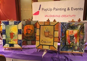 PopUp Painting & Cafe Art