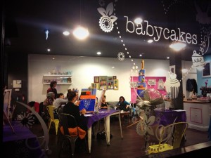 Babycakes with PopUp Painting
