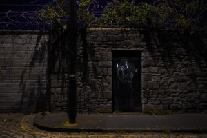 A new Banksy painting uploaded to Banksy's website, www.banksy.co.uk