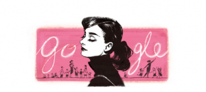 Audrey Hepburn's 85th Birthday was even commemorated on Google's home screen.