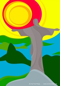 Cristo Redentor by Tom Veiga