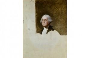 George Washington (Athenaeum) Painter- Gilbert Stuart  Year- 1796