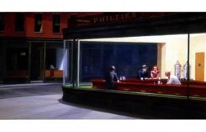 Nighthawks Painter- Edward Hopper  Year- 194'2