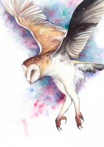 Power Owl by Annie Dalton
