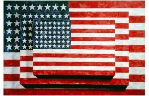 Three Flags (1958) by Jasper Johns