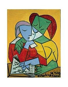 Two Girls Reading, Picasso