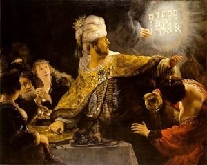 Belshazzar's Feast (1637)