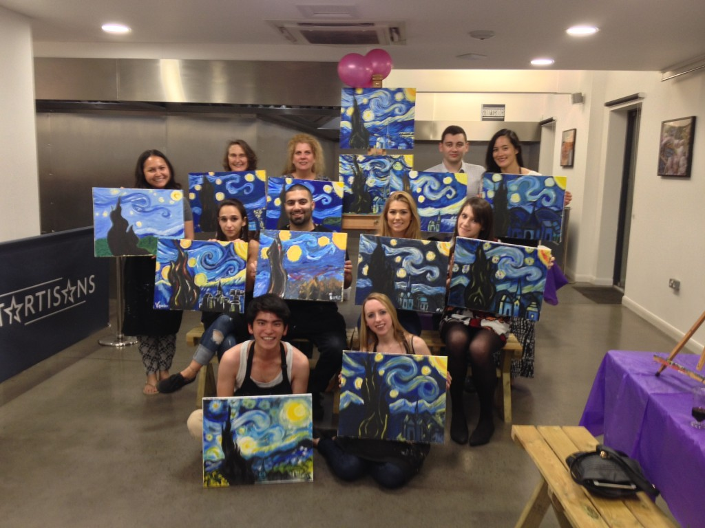 Starry Night group photo Startisans