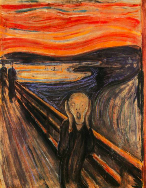 'The Scream', Edvard Munch