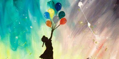 Ballon Girl Banksy Annie Dalton