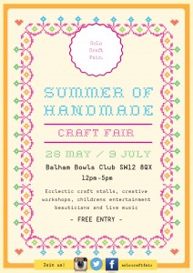 SoLo Craft Fair Balham Bowls Club