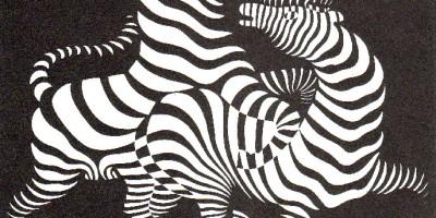 Vasarely zebra 1938