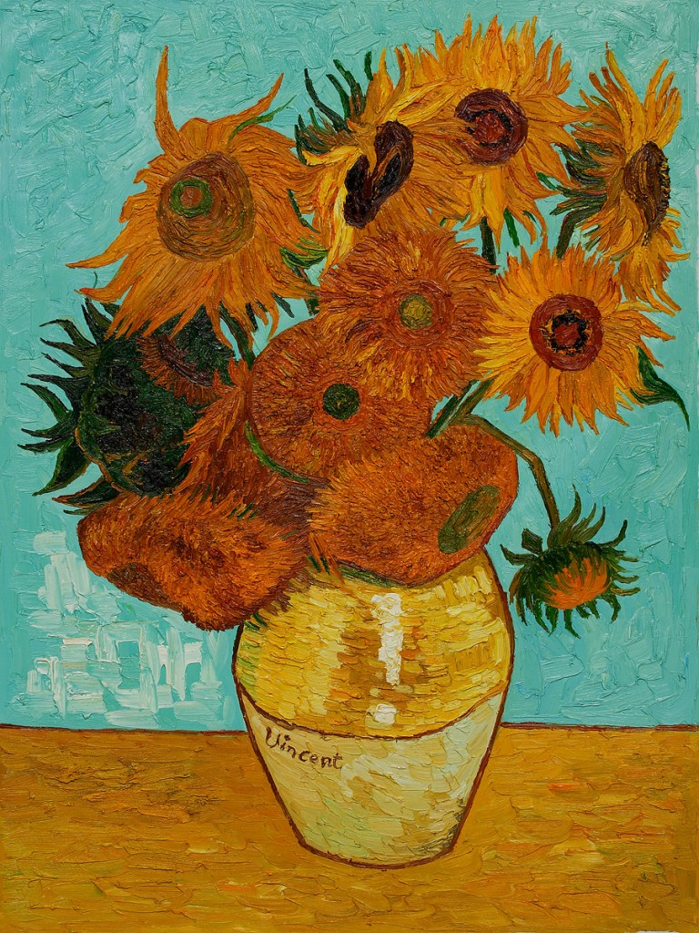 Image result for van gogh sunflower painting