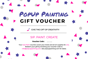 PopUp Painting Gift Voucher