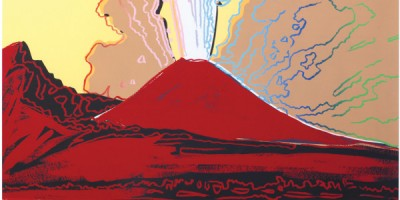 Andy Warhol Vesuvius Pop Art