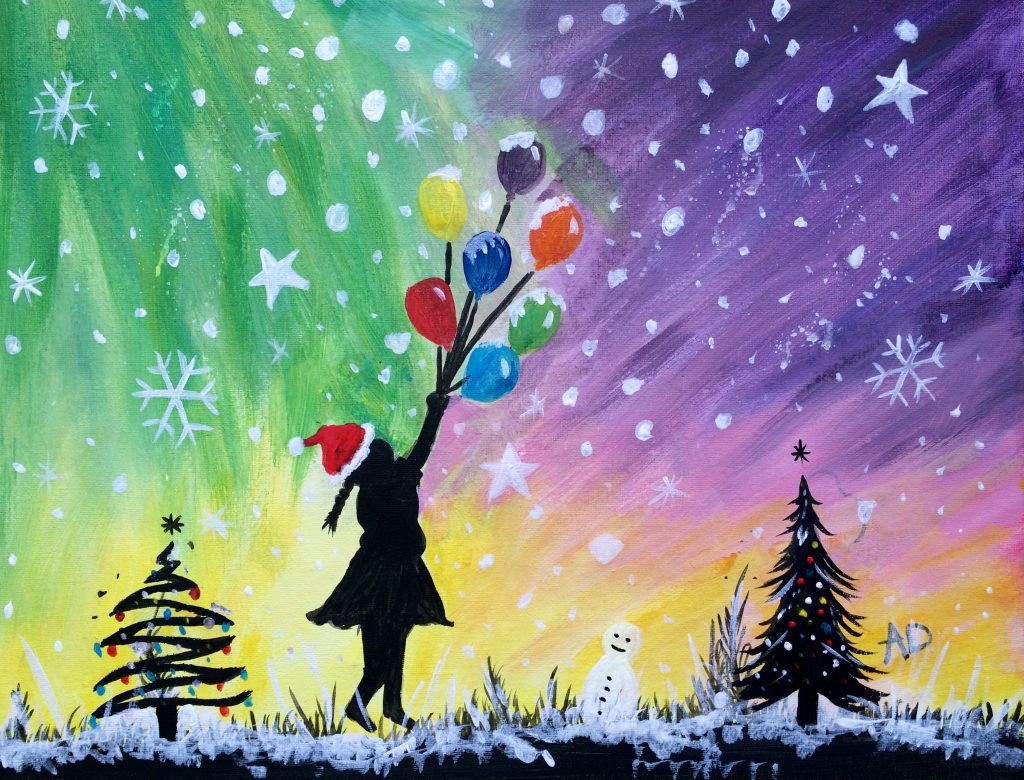 Join The Waiting List Sold Out Christmas Paint Night Notting Hill Gate Thursday 7 December