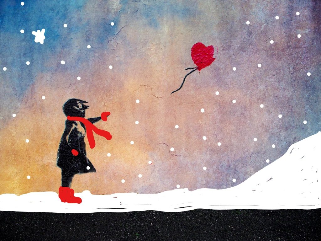 Join the waiting list sold out paint like banksy for Banksy mural painted over