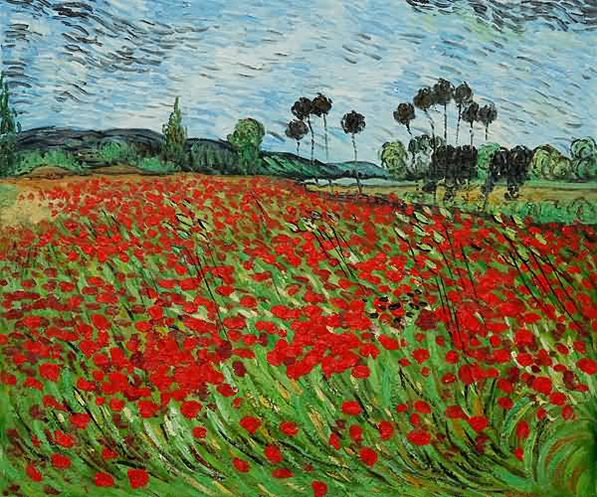 Famous Red Poppy Painting