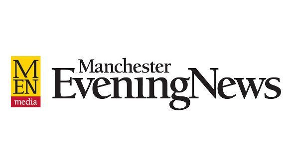 manchester evening news pop up painting