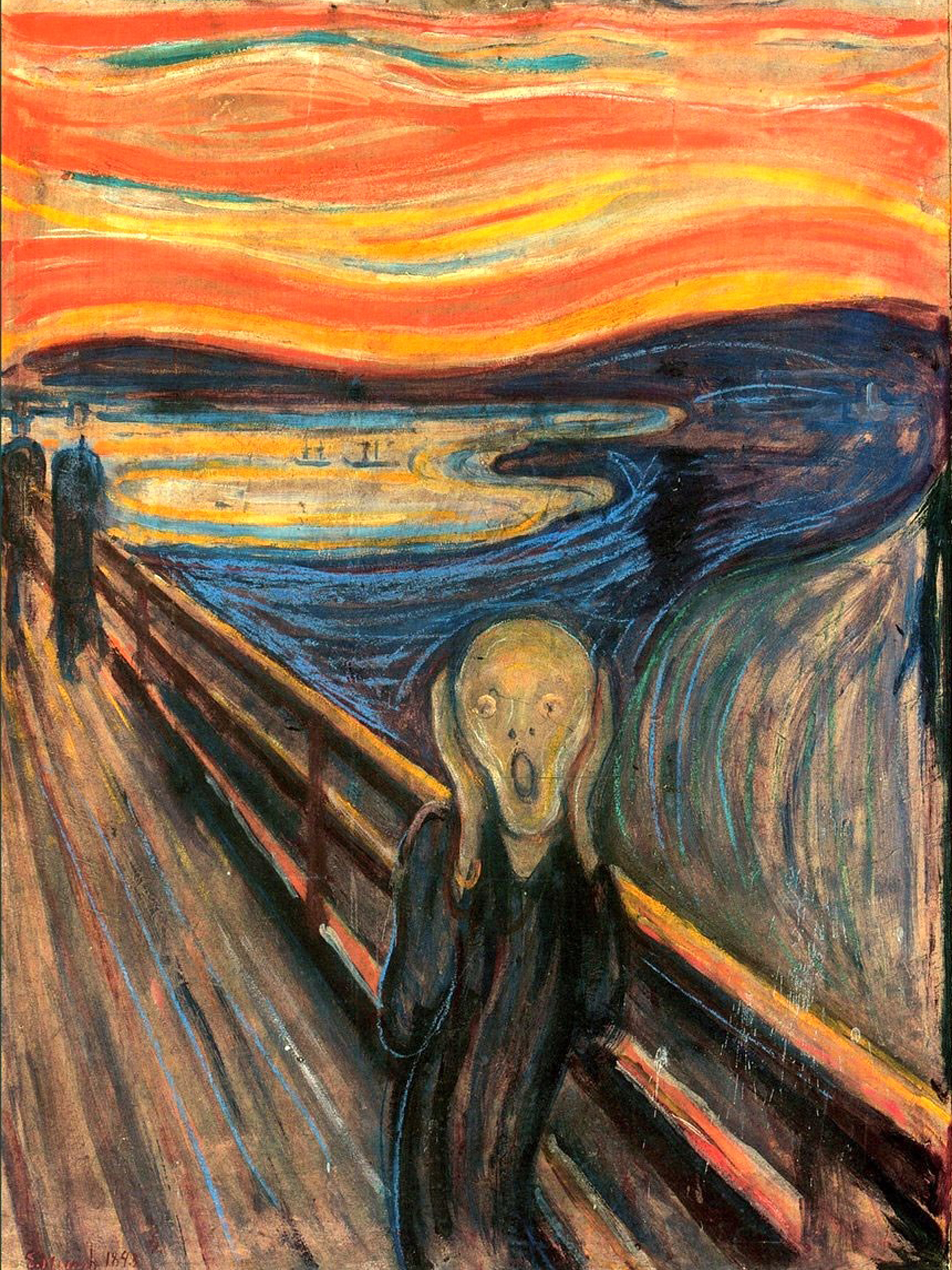 Munch.TheScream - PopUp Painting