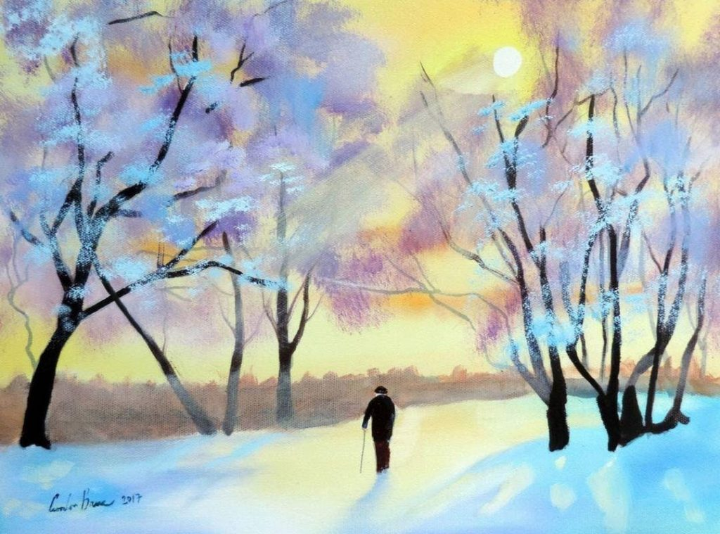 Sold Out Paint Winter Afternoon Sunday 13 January