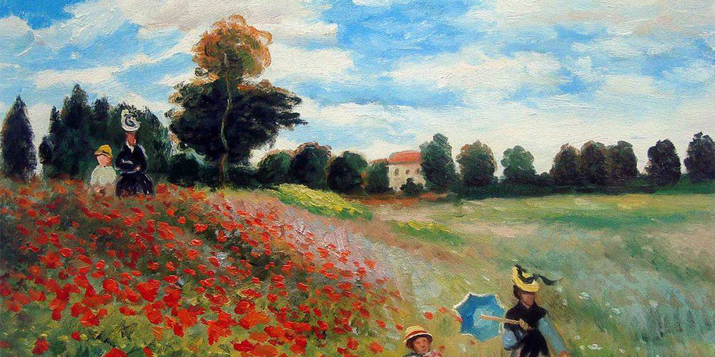 Online Party - Paint Monet's Poppies! - PopUp Painting