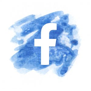 Watercolour PopUp Painting Facebook Icon
