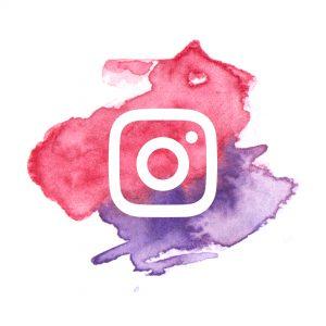 Watercolour PopUp Painting Instagram Logo