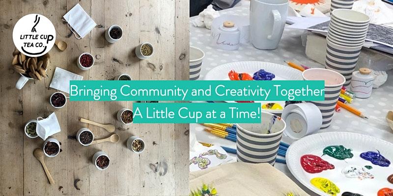 Creativity ideas tea art online events
