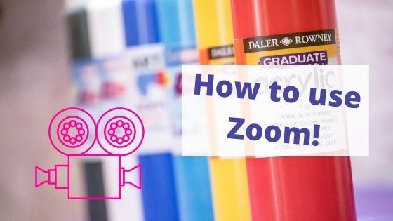 how to use zoom popup painting