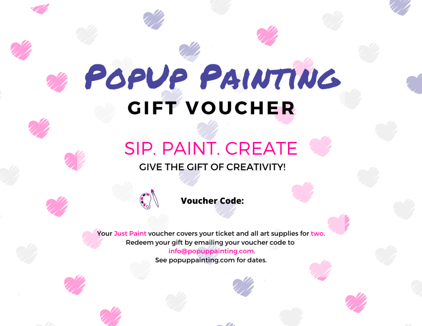 Valentine's Gift Voucher for Two