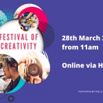 Festival of Creativity 28 March