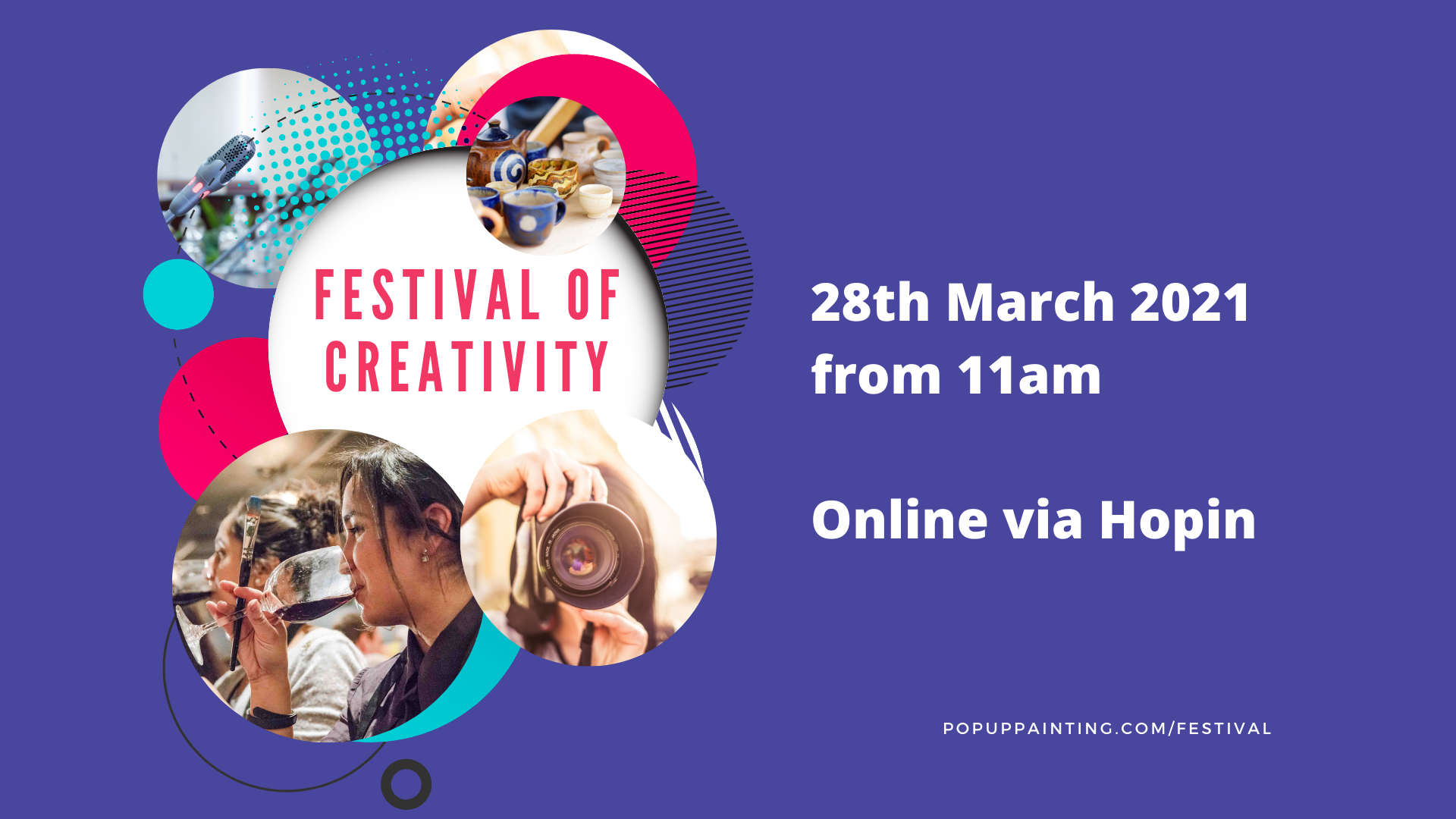 Festival of Creativity 28 March